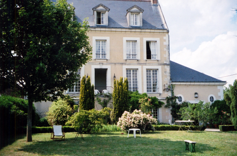 b&b Loire valley chateaux: Huchepie manor bed and breakfast
